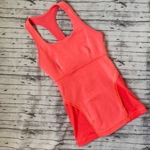 Lululemon | Orange Racerback Tank
